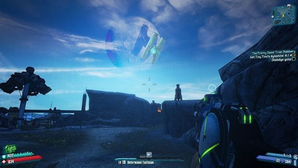 The H-shaped Hyperion base, as seen from Borderlands 2.