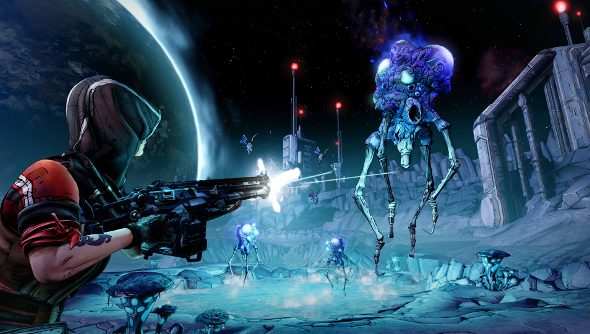 Borderlands: The Pre-Sequel footage