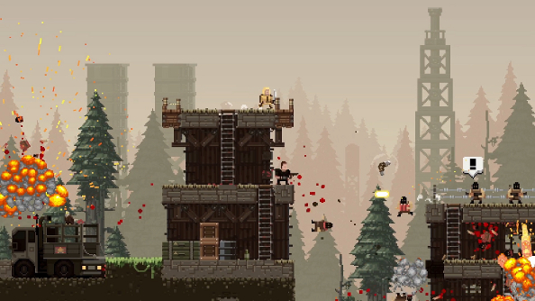 Broforce's Bro-ctober update gives power to the masses with Steam Workshop support