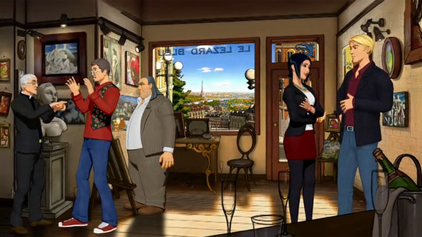 Charles Cecil launches Kickstarter for Broken Sword 5