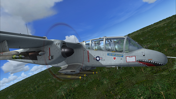 Crop Dusting and Jungle Diving - Two unusual aircraft for FSX