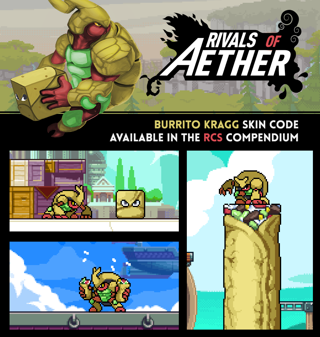 Rivals of Aether - Burrito Kragg