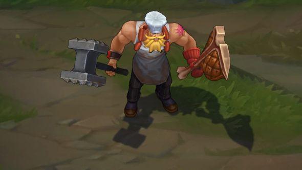 Butcher Olaf in-game