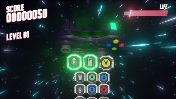 Button Frenzy game
