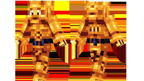 best minecraft skins c-3po