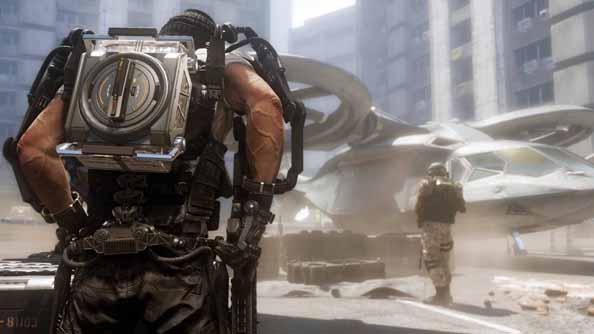 Call of Duty: Advanced Warfare - a few years ahead of us.