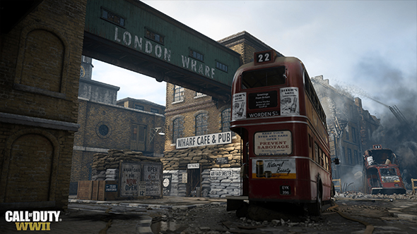 call of duty ww2 london blitz