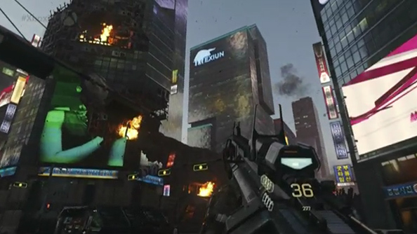 Call of Duty: Advanced Warfare gets all sci-fi at E3, but the DLC will still be old fashioned timed exclusives