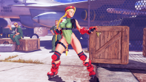 Street Fighter 5 Cammy Cannon Spike Costume