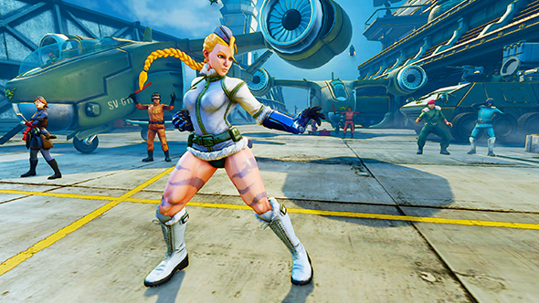 street fighter 5 cammy cold weather costume