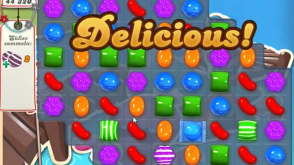 Candy Crush Saga.