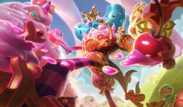 Candy King Ivern splash art