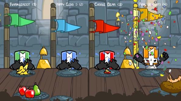 Castle Crashers release date announced. Steam's walls shudder in anticipation.