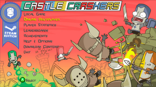 Castle Crashers is getting a free remaster on Steam, sort of