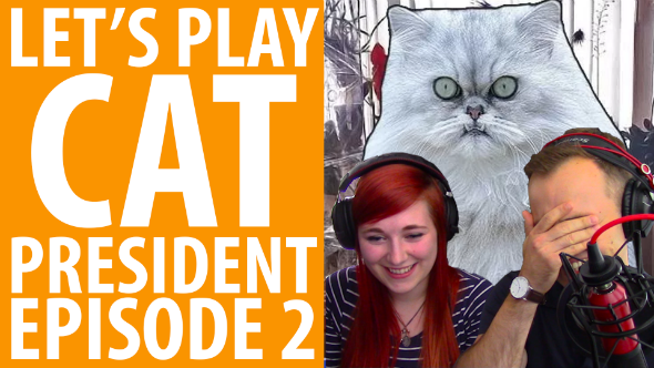 Cat President let's play