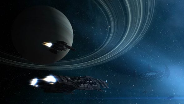 Eve Online, and the vacuum.