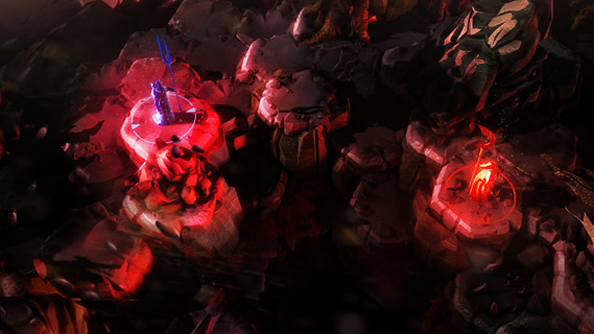 This is Chaos Reborn concept art - but the reality is not far off.