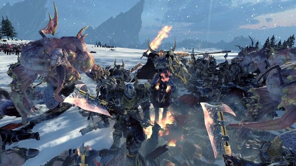 Total War: Warhammer's Chaos Warriors are the game's best