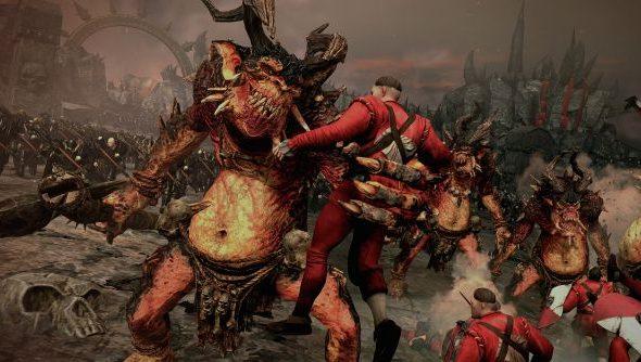 Total Warhammer Chaos units