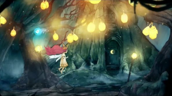 "Child of Light in motion: how Ubisoft's ""playable poem"" plays"