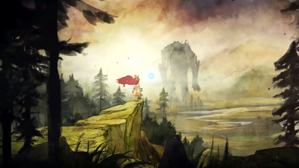 Brighten up your day with the Child of Light launch trailer