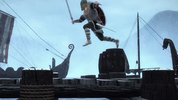 Chivalry: Deadliest Warrior trailer features beheading and, er, hopping