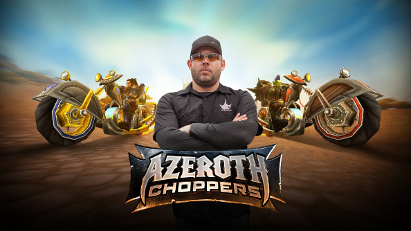 Azeroth Choppers: World of Warcraft does American Choppers, and nothing makes sense any more