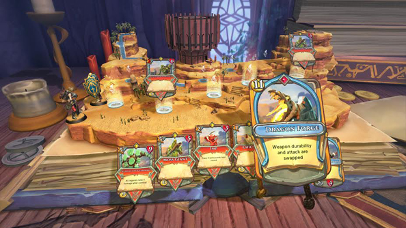 Jagex are making a Hearth-style collectible card game named Chronicle: Runescape Legends
