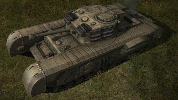 British tanks deploying for World of Tanks. Britain! Right-o!