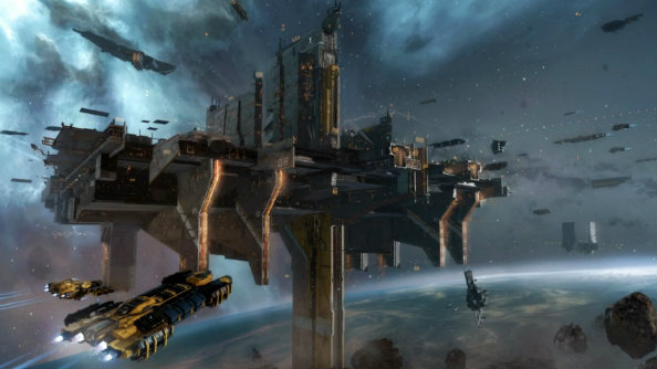 Massive orbital cities showcased in EVE Online's Citadels expansion trailers