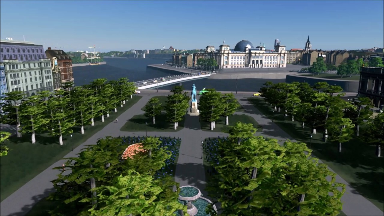 Assembly required: someone has just recreated Stockholm in Cities: Skylines