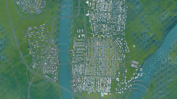 Cities Skylines is the Sim City you wanted Sim City to be