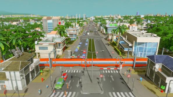 Cities Skylines bus