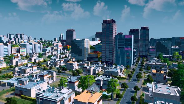 Cities Skylines vista