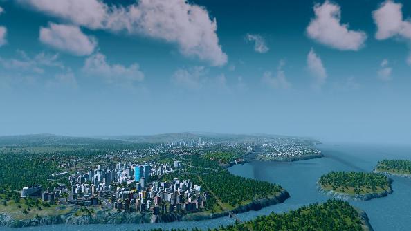 Cities Skylines longshot