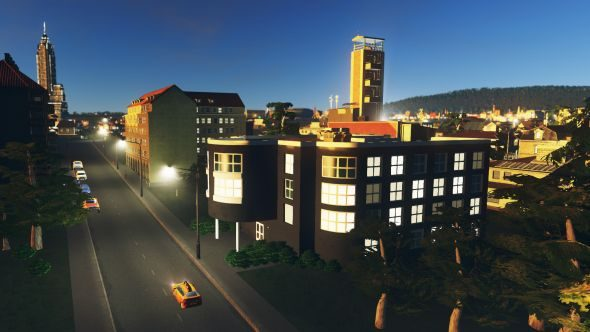 Cities: Skylines art deco pack