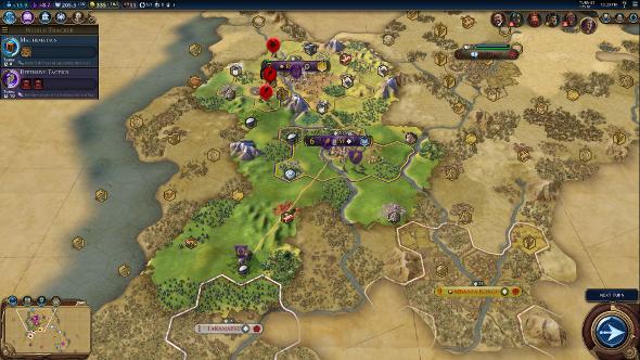 Civilization 6 tactics first turns walkthrough