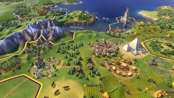 Civ 6 cities