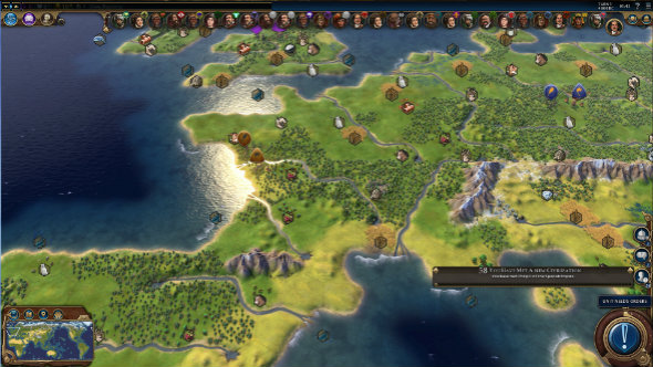 Civilization 6 mod adds an Earth map – its largest version uses