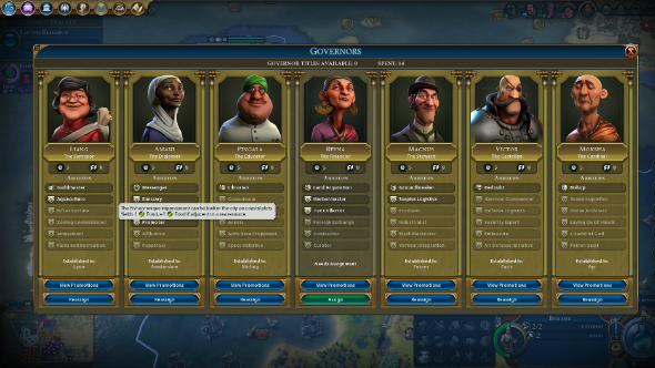 civ 6 rise and fall governors