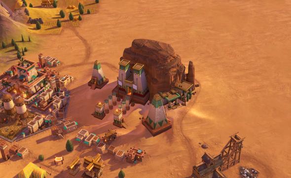 Jebel Barkal, a Wonder added in the Nubia DLC