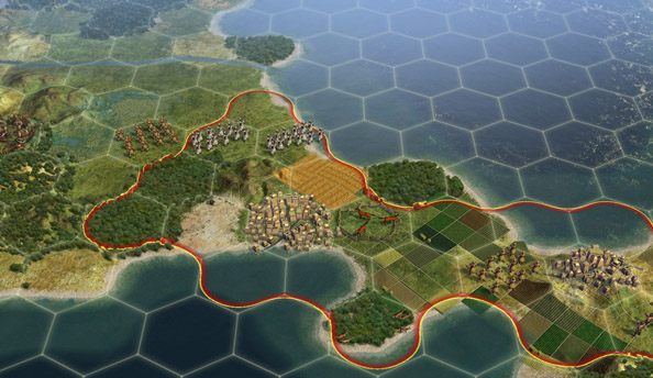 Civilization Online announced, is an MMO for the Asian market