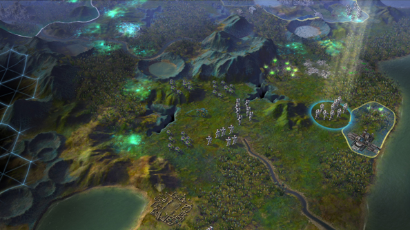Civilization: Beyond Earth: not Alpha Centauri. Sorry.