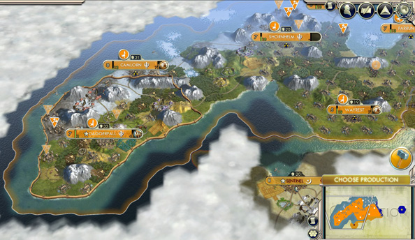 Play Civilization V on an Elder Scrolls map
