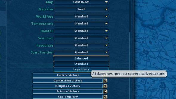 Civilization 6 map types