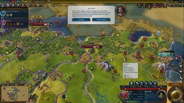 Civilization VI - Rise and Fall