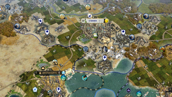Play Civilization V for free while you pre-load Beyond Earth