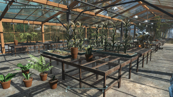 Fallout 4 mods clean settlement greenhouses