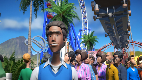 Planet Coaster will obviously let you crash coasters into your customers