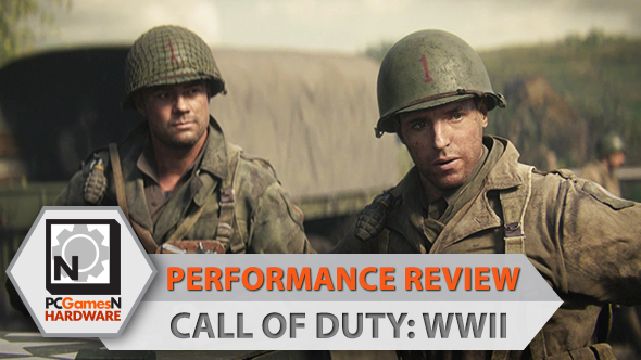 cod ww2 pc performance